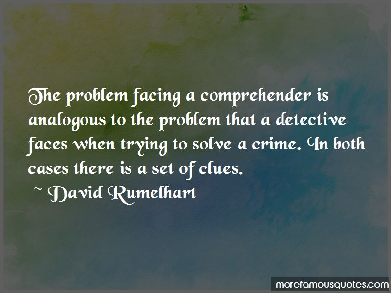 David Rumelhart Quotes