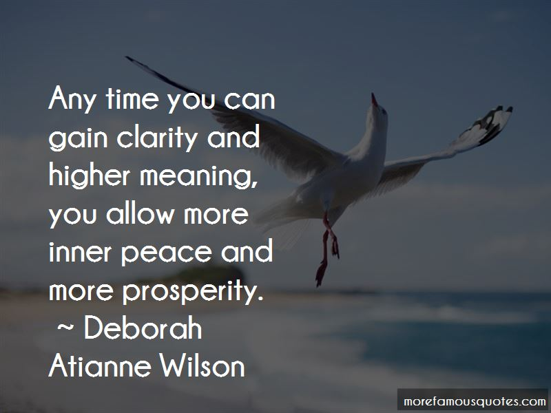 Deborah Atianne Wilson Quotes Pictures 3