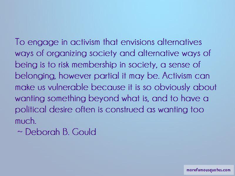 Deborah B. Gould Quotes