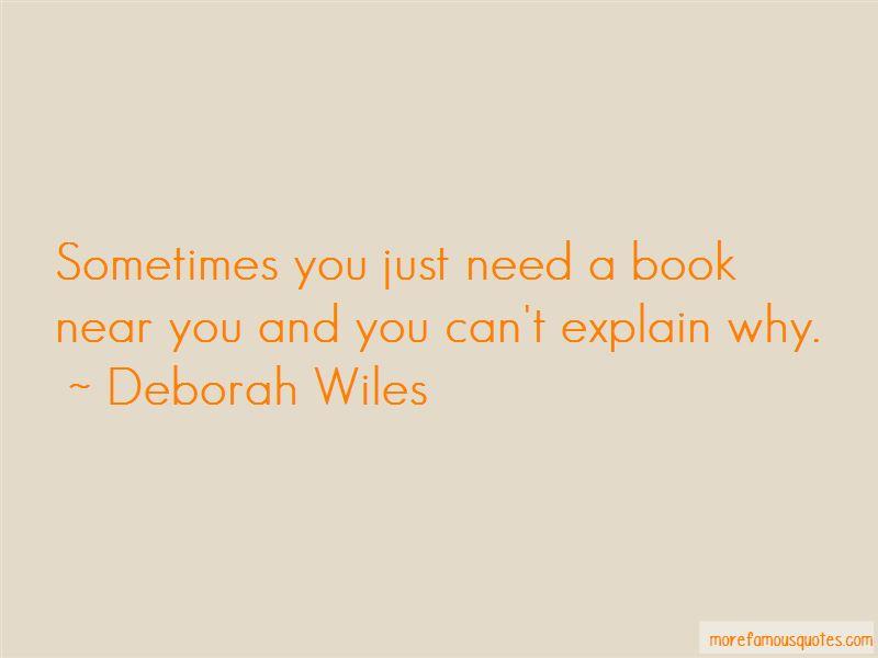 Deborah Wiles Quotes Pictures 3