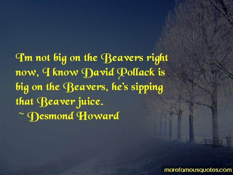 Desmond Howard Quotes