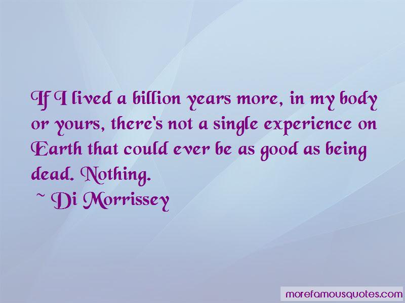 Di Morrissey Quotes