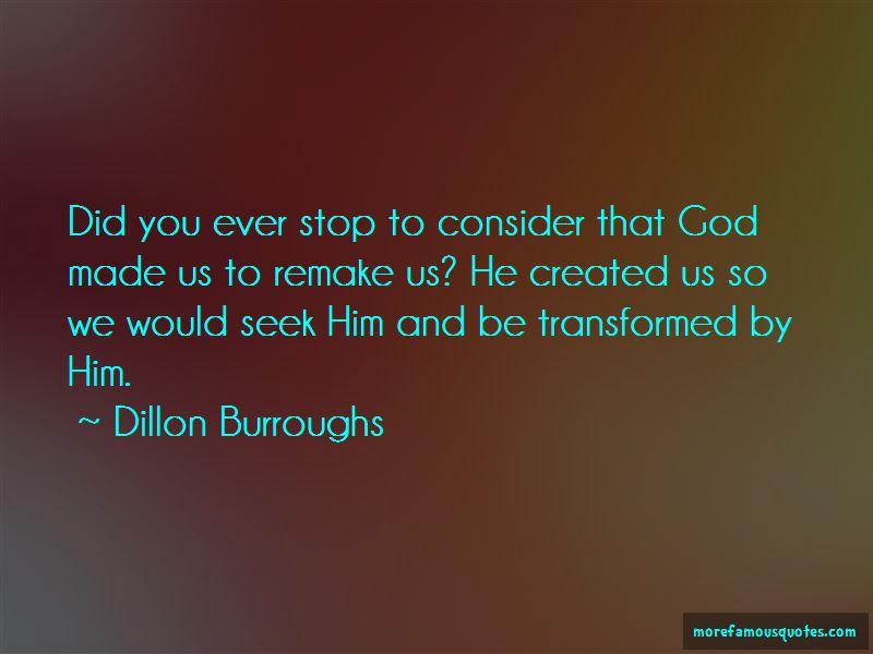 Dillon Burroughs Quotes Pictures 2