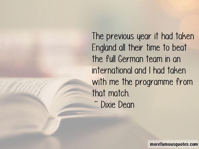 Dixie Dean Quotes