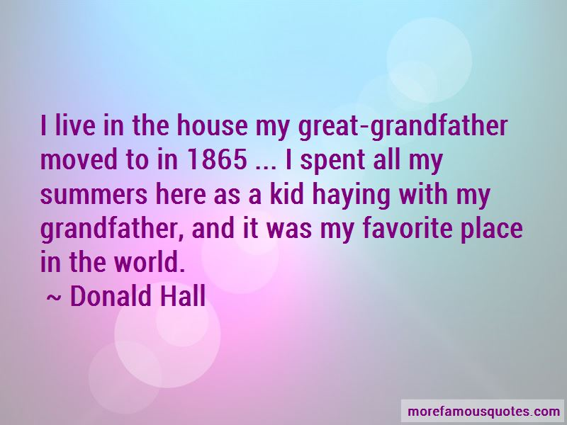 Donald Hall Quotes Pictures 3
