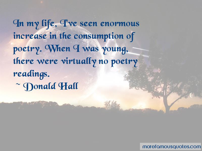 Donald Hall Quotes Pictures 4