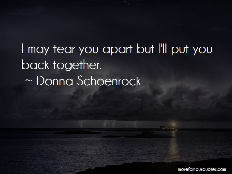Donna Schoenrock Quotes