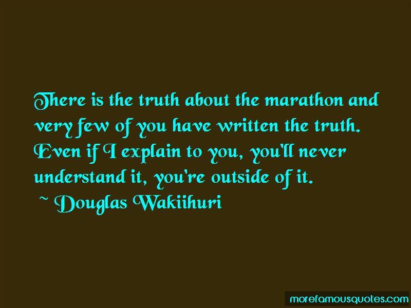 Douglas Wakiihuri Quotes