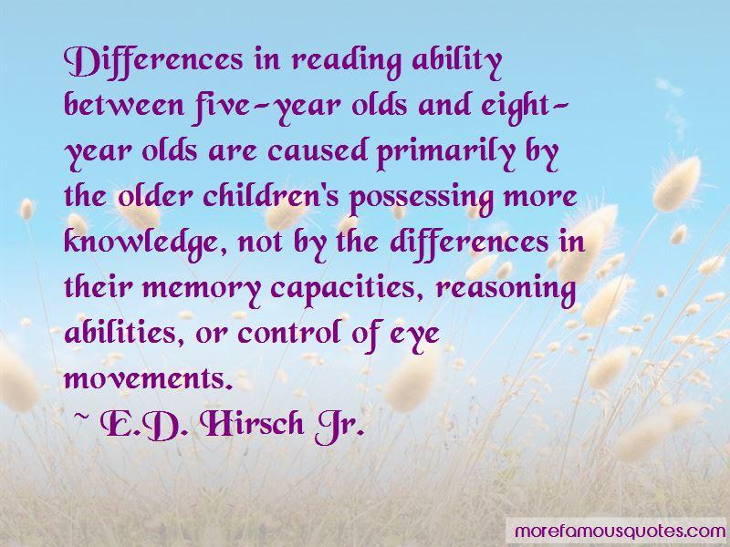 E.D. Hirsch Jr. Quotes Pictures 2