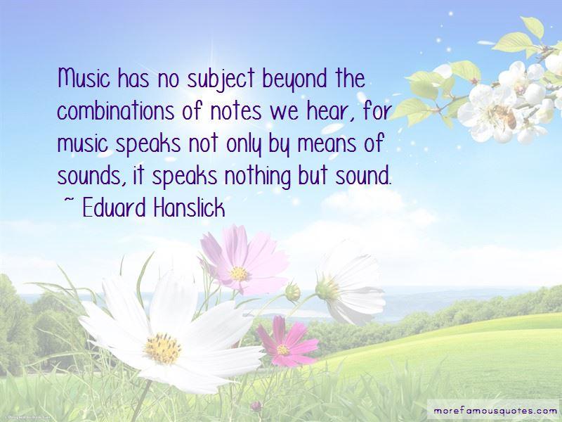 Eduard Hanslick Quotes Pictures 3