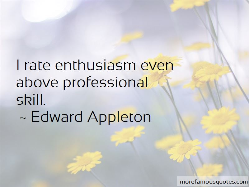 Edward Appleton Quotes Pictures 2