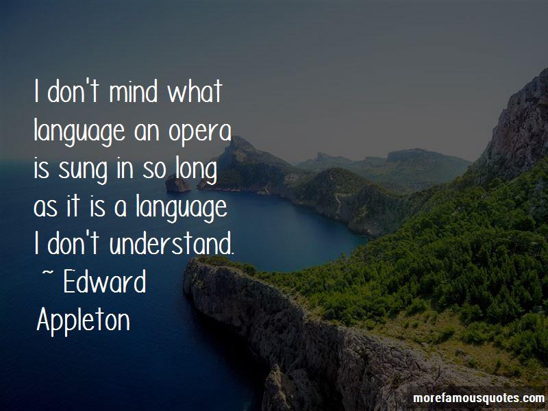 Edward Appleton Quotes