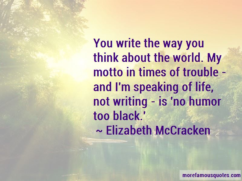 Elizabeth McCracken Quotes Pictures 2