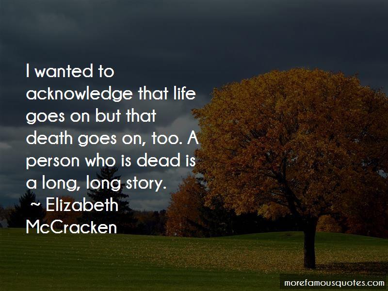 Elizabeth McCracken Quotes Pictures 4