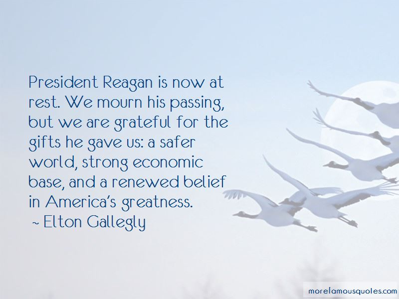 Elton Gallegly Quotes Pictures 4