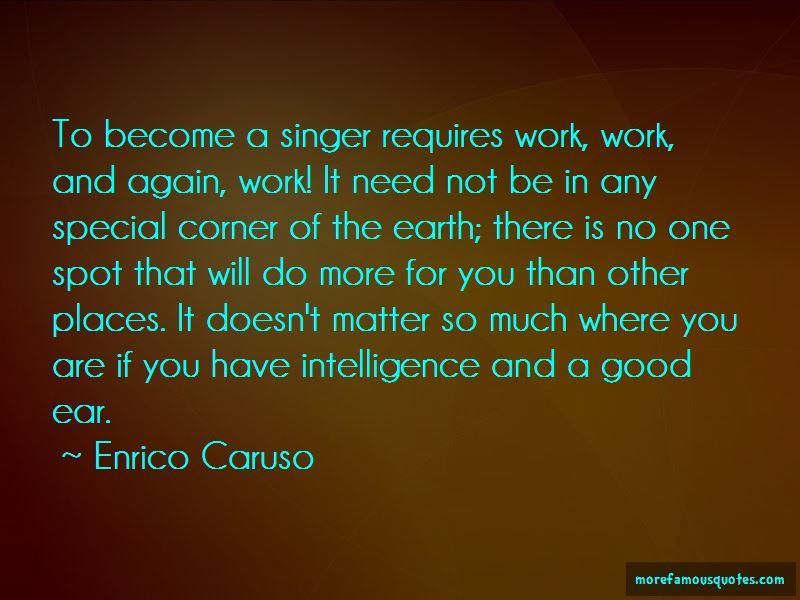 Enrico Caruso Quotes