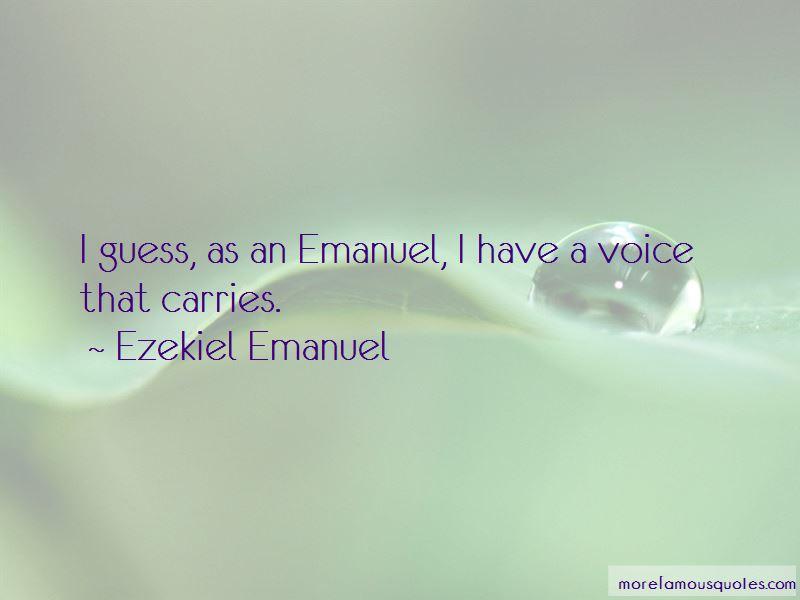 Ezekiel Emanuel Quotes Pictures 2