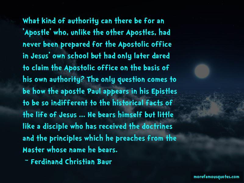 Ferdinand Christian Baur Quotes Pictures 3