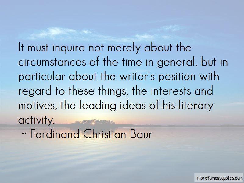 Ferdinand Christian Baur Quotes Pictures 4