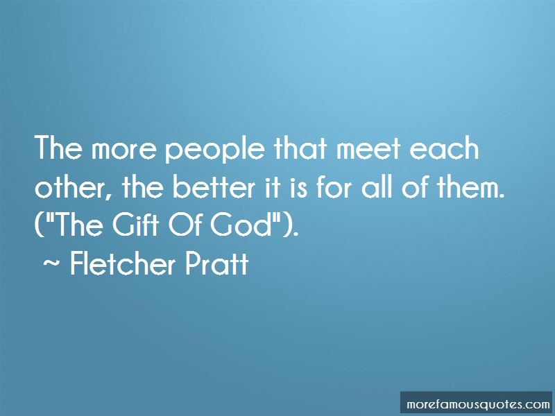 Fletcher Pratt Quotes Pictures 2