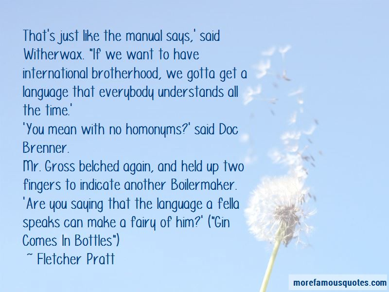 Fletcher Pratt Quotes Pictures 4