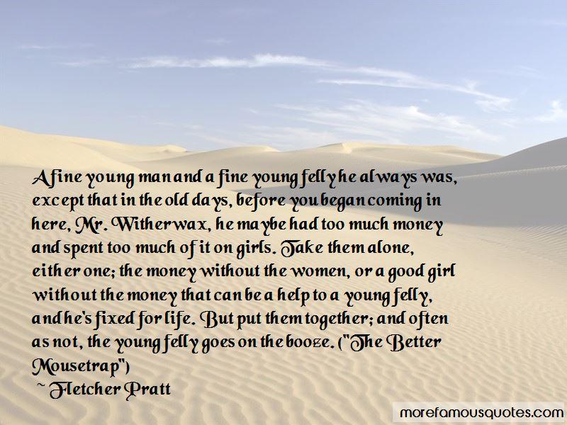 Fletcher Pratt Quotes