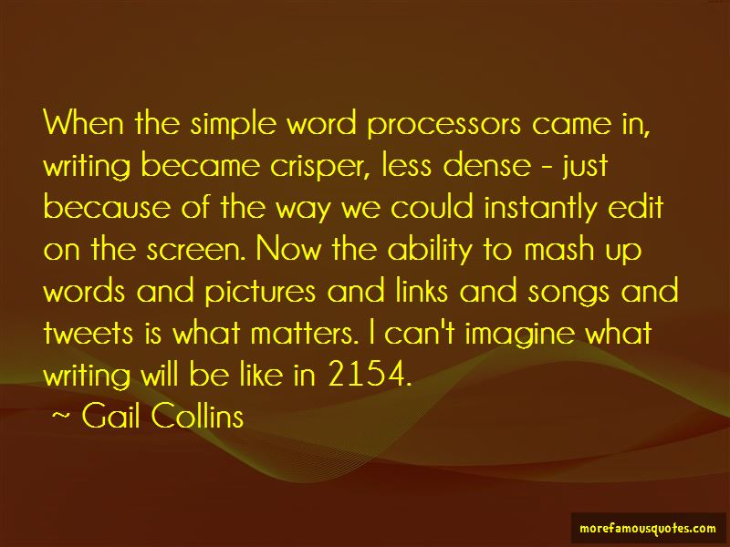 Gail Collins Quotes Pictures 2