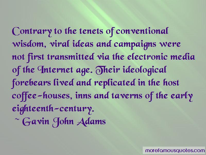 Gavin John Adams Quotes Pictures 2