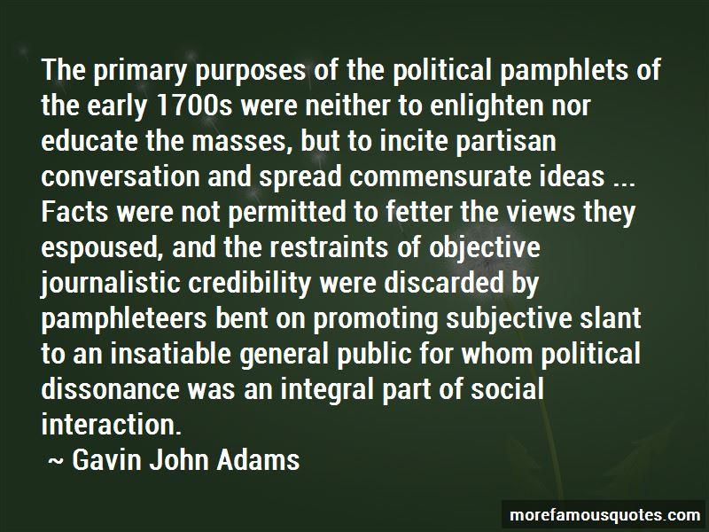 Gavin John Adams Quotes