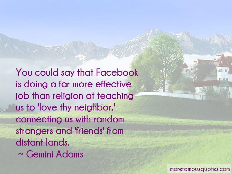 Gemini Adams Quotes