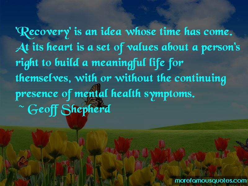Geoff Shepherd Quotes