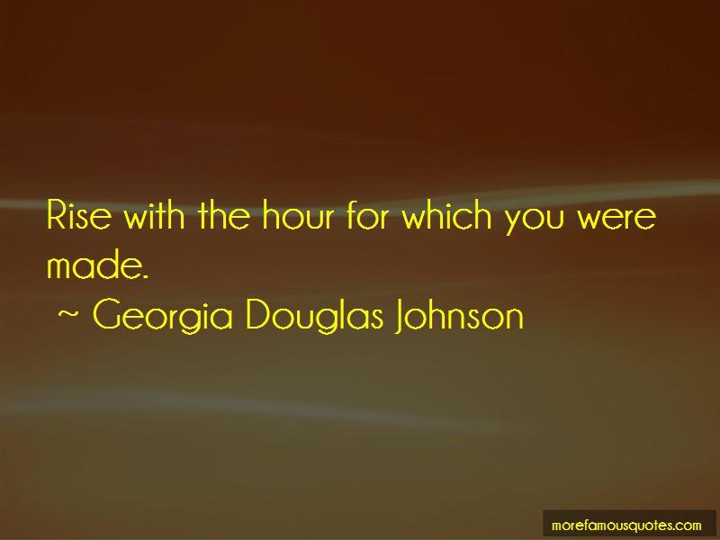 Georgia Douglas Johnson Quotes Pictures 4