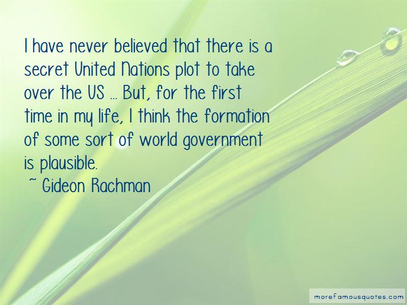 Gideon Rachman Quotes