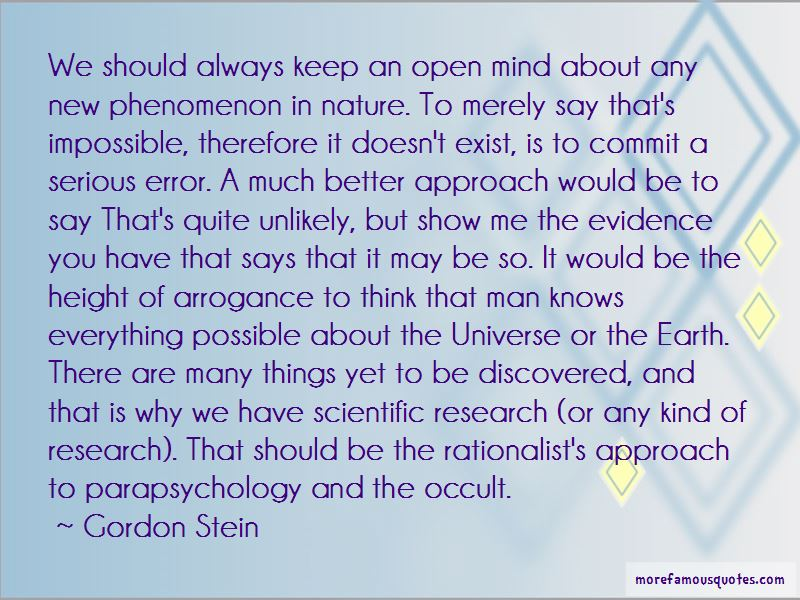 Gordon Stein Quotes Pictures 3