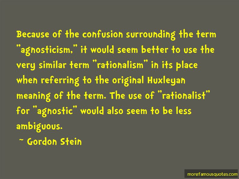Gordon Stein Quotes