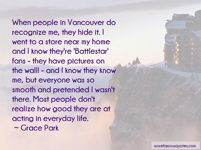 Grace Park Quotes Pictures 2