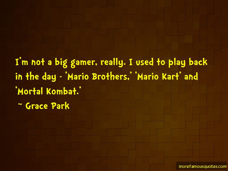 Grace Park Quotes Pictures 3