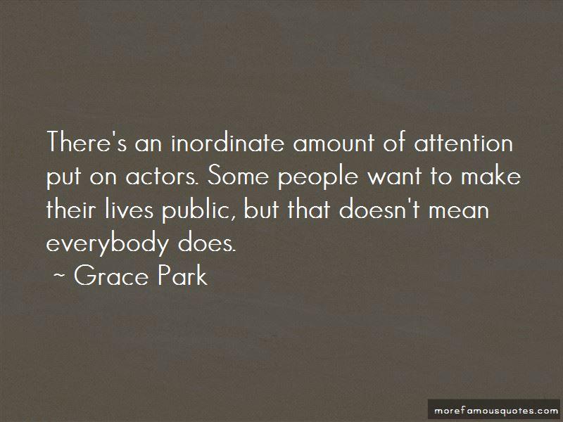Grace Park Quotes Pictures 4