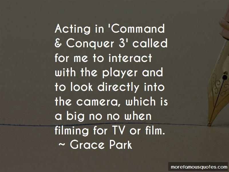 Grace Park Quotes
