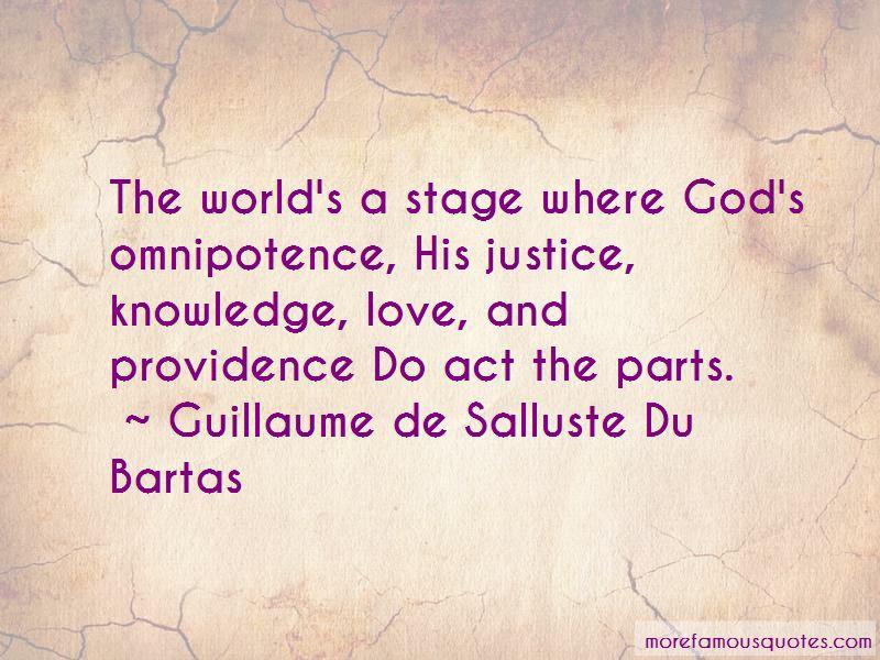 Guillaume De Salluste Du Bartas Quotes Pictures 2