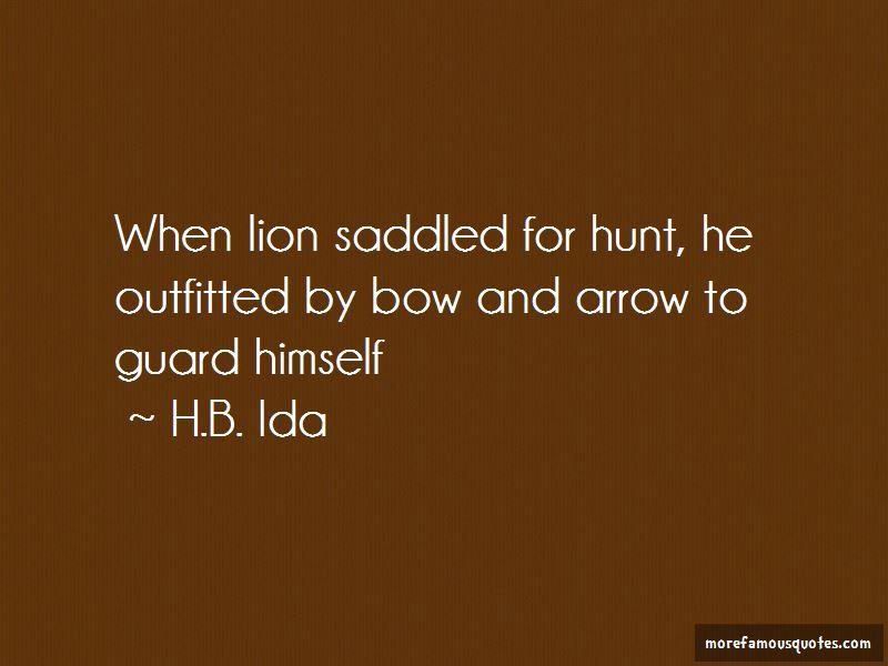H.B. Ida Quotes