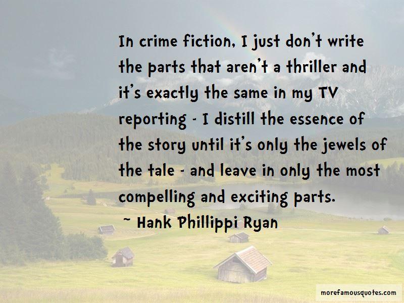 Hank Phillippi Ryan Quotes Pictures 3