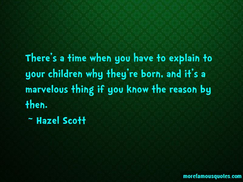 Hazel Scott Quotes Pictures 2