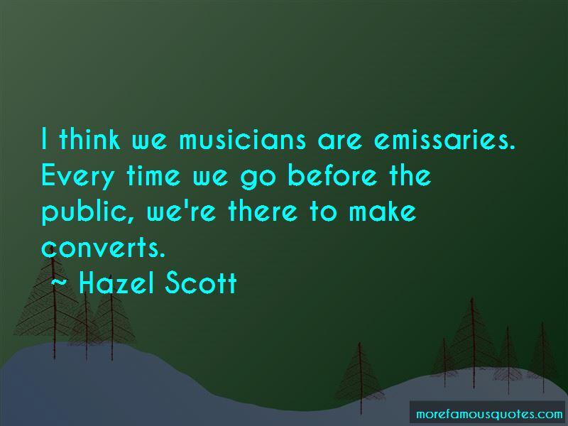 Hazel Scott Quotes Pictures 3
