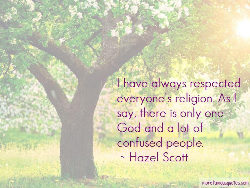 Hazel Scott Quotes