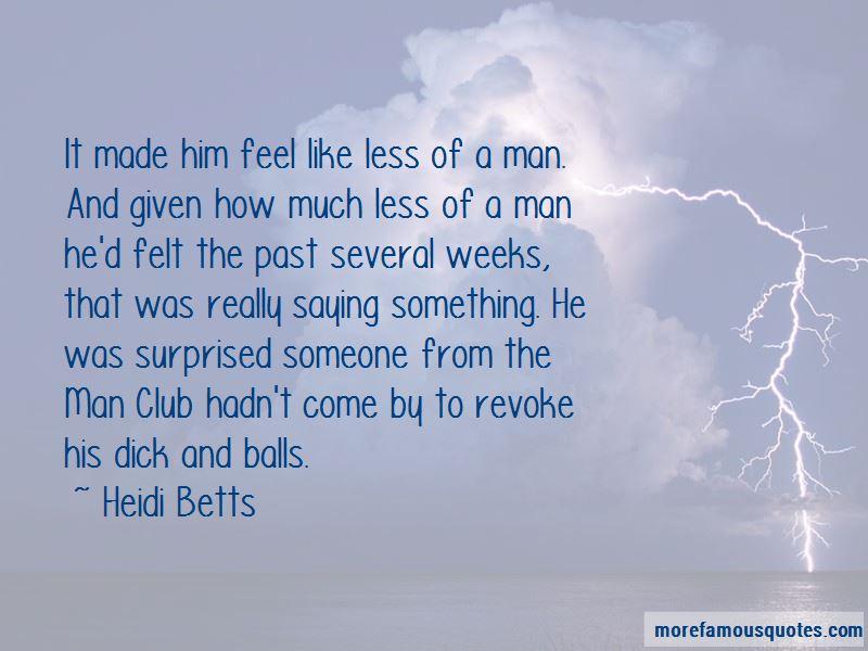 Heidi Betts Quotes