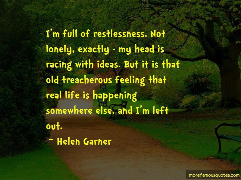 Helen Garner Quotes