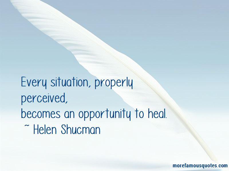 Helen Shucman Quotes