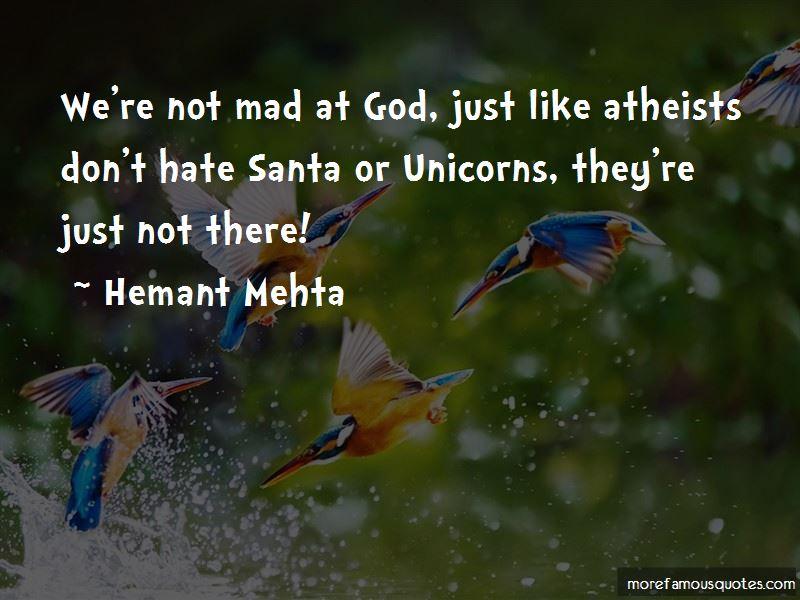Hemant Mehta Quotes