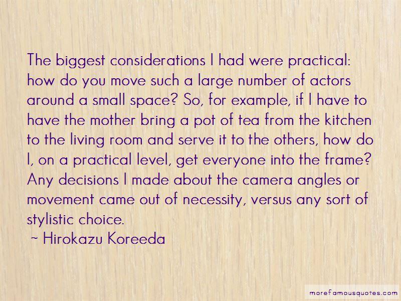 Hirokazu Koreeda Quotes Pictures 3